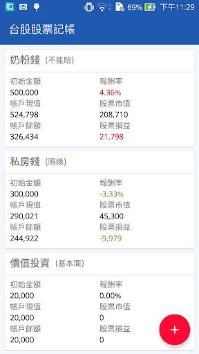台股股票記帳