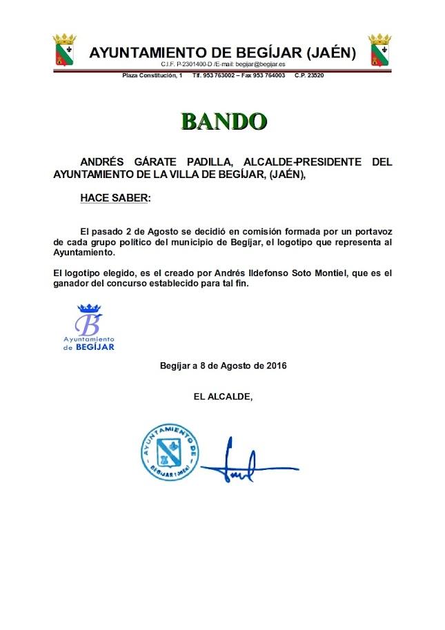 Bando Ganador Logotipo Ayuntamiento