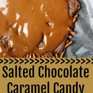 Salted Chocolate Caramel Candy Recipe