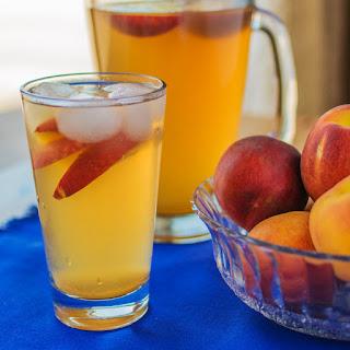 Fresh Peach Green Tea