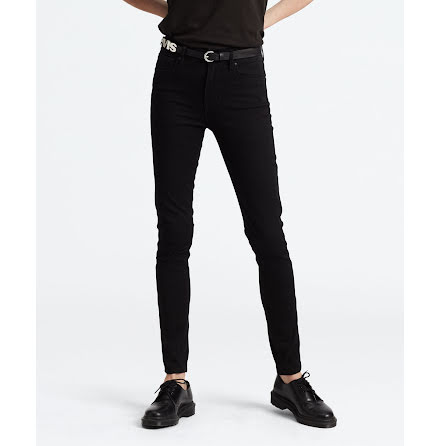 Levi's 721 High rise skinny jeans long shot