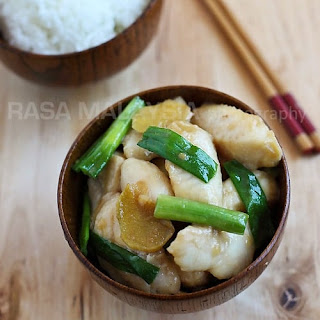 Ginger and Scallion Fish (姜葱鱼片) Recipe