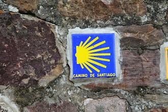 Photo: Vejen til Santiago går mod højre.