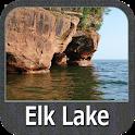 Elk Lake - IOWA GPS Map Navigator icon