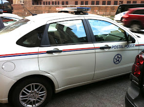 Photo: Postal Police. Are they for real?