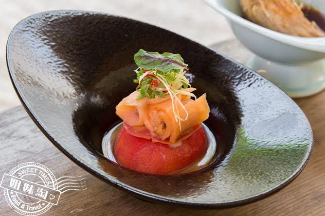 大手町祕境時筍海鮮番茄藏芋和風沙拉