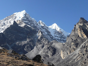 Photo: Peak 41 (6648m) in the Hunku valley