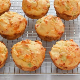 Rainbow Vegetable Savoury Muffins Recipe