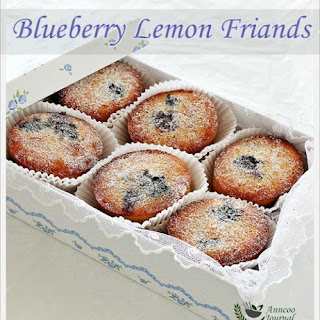 Blueberry Lemon Friands