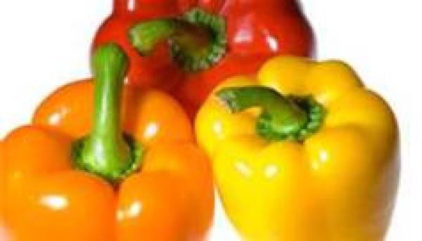 Vegetarian Cheesy Stuffed Peppers Recipe
