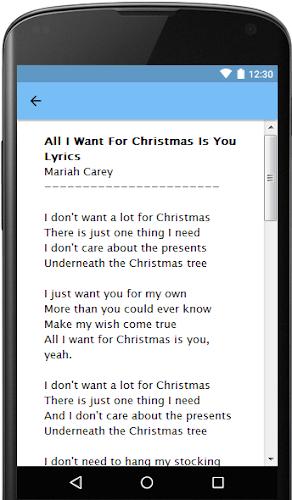 I Dont Want Alot For Christmas Lyrics