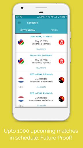 Live Cricket Score 2018 2.2 screenshots 3