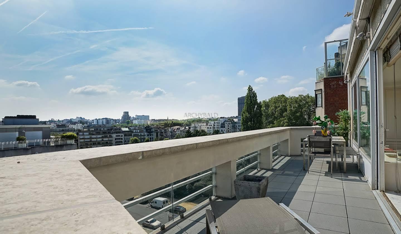 Appartement avec terrasse Ixelles