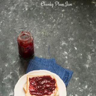 Chunky Spiced Plum Jam.