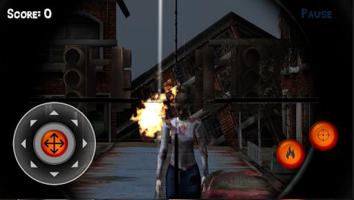 Sniper 3D vs Zoombie 1.1 screenshots 2