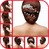 Step by step hair binding styles (hair models)