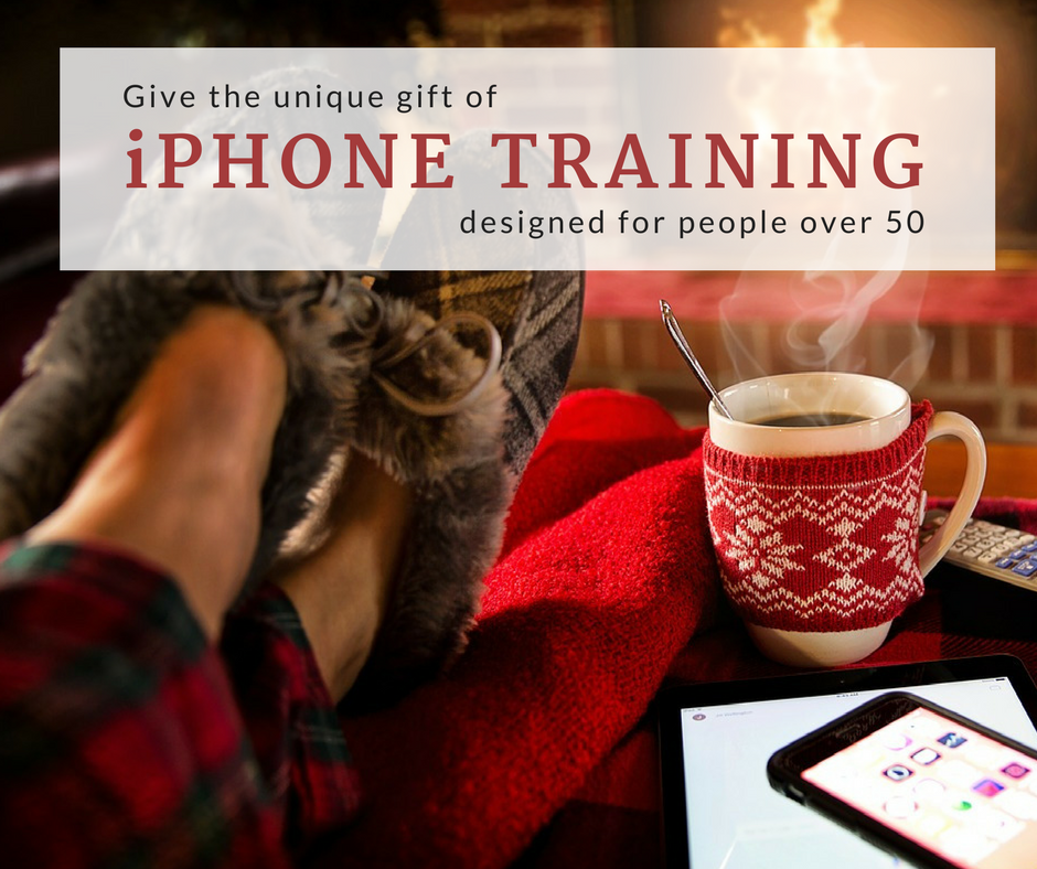 Give the gift of iPhone training