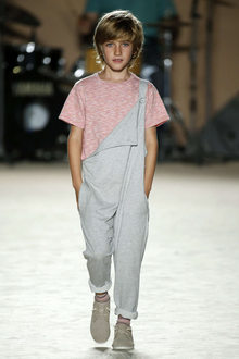 défilé mode enfant Condor look hipster garçon