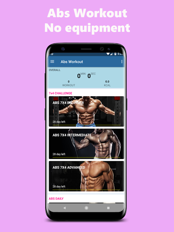 Six Pack Abs Workout No Equipment Home Workout Android Apps Appagg
