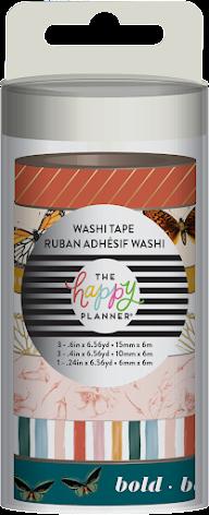 Me & My Big Ideas Washi Tape 7/Pkg - Papillon