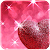 Pink Love Diamond Heart file APK Free for PC, smart TV Download