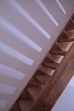 Photo: Lichtspiel mit Turmtreppe