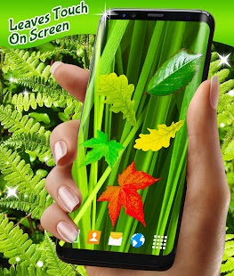 Leaves Magic Touch on Screen - náhled