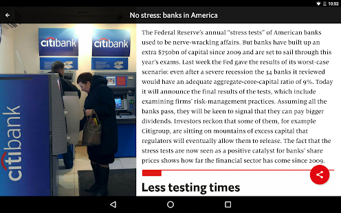 The Economist Espresso- screenshot thumbnail