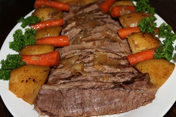 Serve everything together in a big serving pot or platter and enjoy. This is...