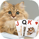 Solitaire Lovely Cats Icon