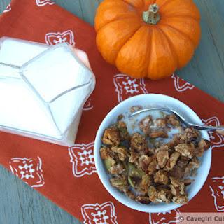 Cavegirl Pumpkin Paleo Cereal