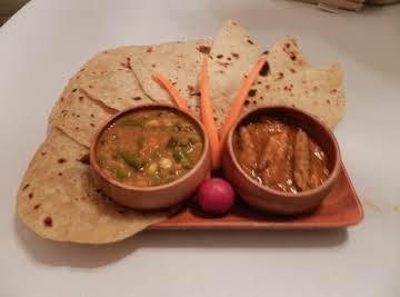 Chappttis Roti ( North Indian Bread)
