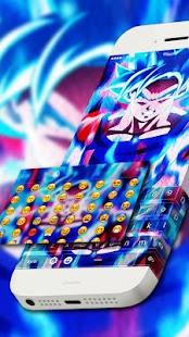 Goku Keyboard Theme - náhled