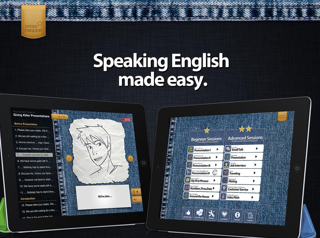 Speak English- screenshot
