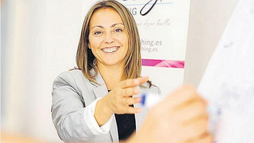 Silvia García, consultora de empresas y coach.