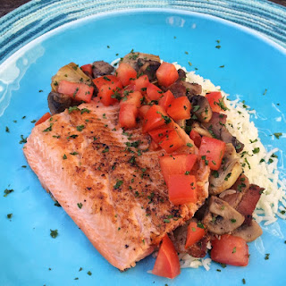 Skillet Trout with Bacon, Mushrooms and Artichokes Recipe