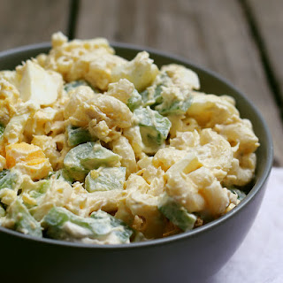 Boiled Egg Tuna Macaroni Salad