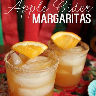 Apple Cider Margaritas.