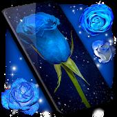 Blue Rose Live Wallpaper 🌹 3D Wallpaper Themes APK download