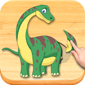Funny Dinosaurs Kids Puzzles, Full Game. Android APK Download Free By CLEVERBIT
