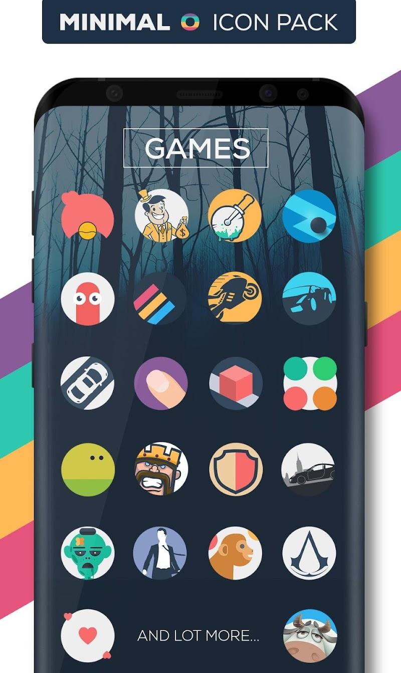 Minimal O - Icon Pack Screenshot 5