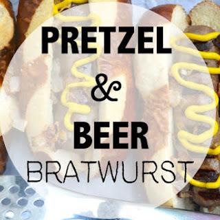 Pretzel and Beer Grilled Bratwurst