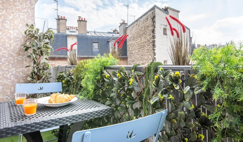 Appartement contemporain avec terrasse Paris 15ème