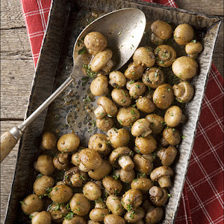 Sensational Sides – Oven-Roasted Mushrooms with Butter, Garlic and Parsley