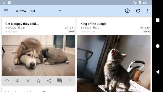 reddit is fun (unofficial) Screenshot
