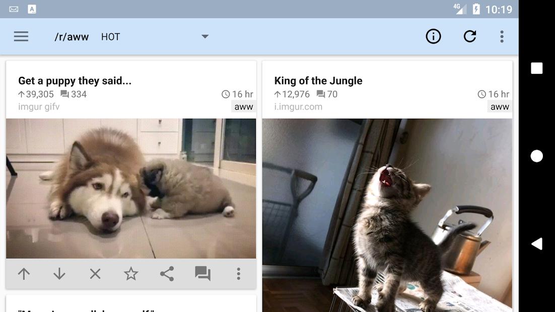 reddit is fun (unofficial) screenshot 4
