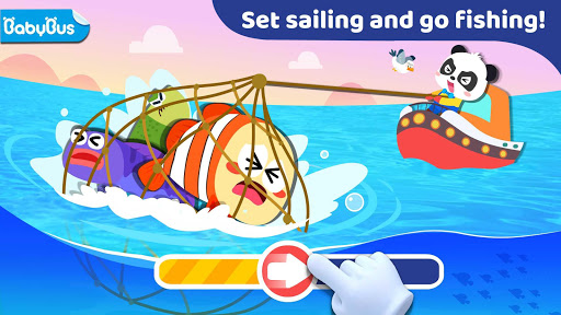 Baby Panda: Fishing screenshots 1