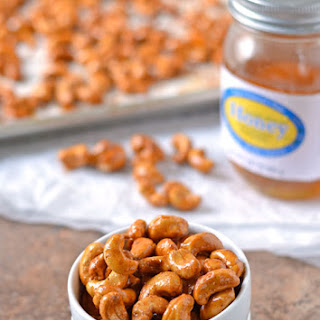 Honey Mustard Roasted Cashews