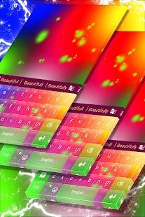 Multicolor Klávesnice zdarma - náhled