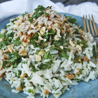 Coconut Rice Loaded with Goodies!.